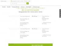 1a-garten-hauner.de Webseite Vorschau