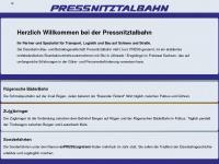 pressnitztalbahn.com
