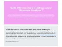 denkmalpflege-niedersachsen.de Webseite Vorschau