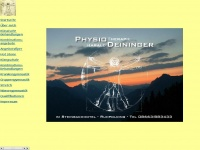 physio-deininger.de Webseite Vorschau