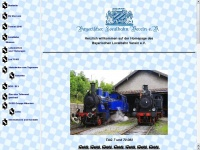 lokalbahnverein.de Webseite Vorschau