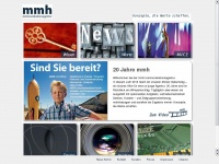mmh.ag Webseite Vorschau