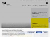 db.dji.de Webseite Vorschau