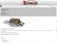kiermeier-bau.de Webseite Vorschau