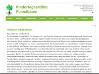 kinderbetreuung-purzelbaum.de Webseite Vorschau