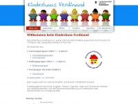 kinderhaus-ferdinand.de Webseite Vorschau