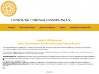 kinderhaussonnenblume.de