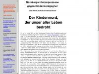 kindermordgegner.de Webseite Vorschau