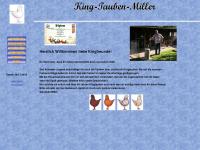 king-tauben.de Webseite Vorschau