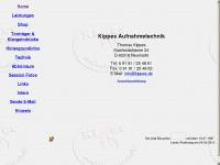 kippes.de Webseite Vorschau