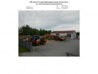 kittl-baumaschinen.de Webseite Vorschau