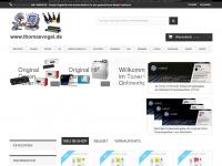 thomasvogel.de Webseite Vorschau
