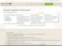 logopaedie-mainaschaff.de Webseite Vorschau