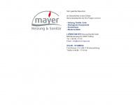 lorenz-mayer.de Webseite Vorschau