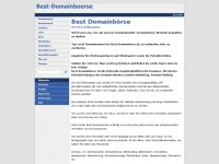 best-domainboerse.de Thumbnail