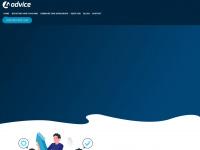 4-advice.net Webseite Vorschau