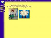 physiotherapie-mittenwald.de Webseite Vorschau