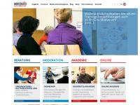 moderation.com Webseite Vorschau