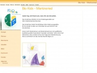 kita-biokids.de Webseite Vorschau