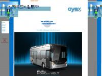 oyex-gmbh.de Webseite Vorschau