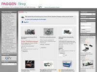 paggenshop.com Webseite Vorschau