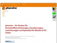 pharetra.com Webseite Vorschau