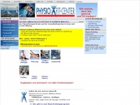 physio-fit-center.com Webseite Vorschau