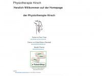 physiotherapie-hirsch.de Webseite Vorschau