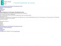physiotherapie-im-lehel.de Webseite Vorschau