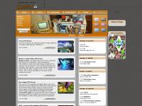 spieleflut.de Webseite Vorschau