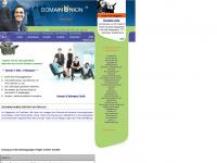 domainunion.de Webseite Vorschau