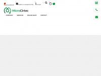 microcirtec.de Webseite Vorschau