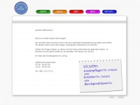 kindergarten-sanktachaz.de Webseite Vorschau
