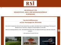 rsi-immobilien.de Webseite Vorschau