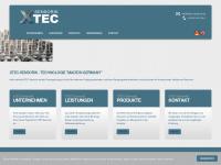 xtec-sensorik.de Webseite Vorschau