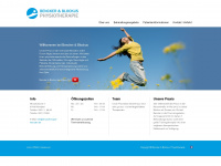 physiotherapie-kempten.de Webseite Vorschau