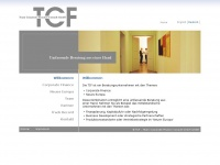 tcf-consult.de Webseite Vorschau