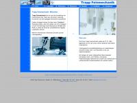 trapp-feinmechanik.de Webseite Vorschau