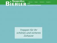 treppenbiehler.de Webseite Vorschau