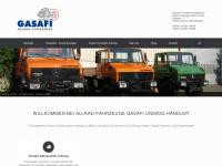 gasafi.de Webseite Vorschau