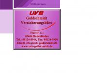 uvb-goldschmidt.de Webseite Vorschau