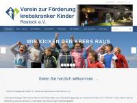 kinderkrebshilfe-rostock.de Webseite Vorschau