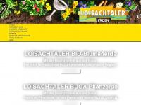 loisachtaler-erden.de Webseite Vorschau