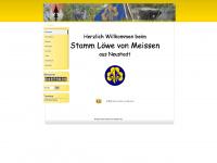 loewe-von-meissen.de Webseite Vorschau
