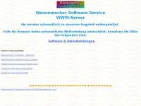 wannemacher.com Webseite Vorschau