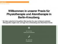 physiotherapie-hoehr.de Webseite Vorschau