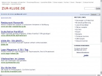 zur-kluse.de Webseite Vorschau