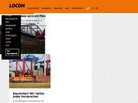 locon-ag.de Webseite Vorschau