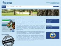 physiotherapie-koritter.de Webseite Vorschau