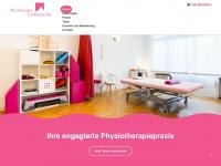 physiotherapie-landhausstrasse.de Webseite Vorschau